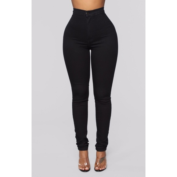FASHION NOVA Women\u0027s Black Skinny Jeans, Size 5